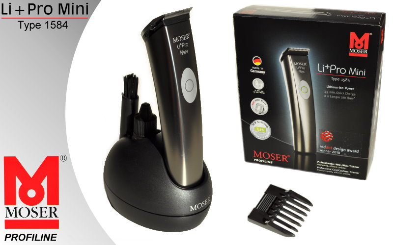 moser li pro mini 1584 0050 contura 1584 hair trimmer beard trimmer ebay. Black Bedroom Furniture Sets. Home Design Ideas