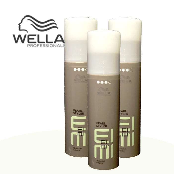 3 x wella eimi pearl styler styling gel 100 ml. Black Bedroom Furniture Sets. Home Design Ideas